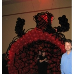 CanCan Entry for Moulin Rouge Party