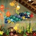 Hanging Reef Display