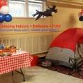 Camping and Balloons si