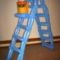 6-ft Ladder for a Friday the 13th Party