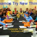 Dynamos Try New Things!