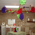 Hanging Jumbo Grapes