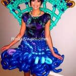 Peacock skirt and tail