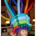 Girl with darn big hat