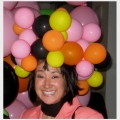 Bubbly hat to match MCA Chicago installation