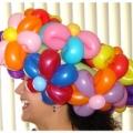 Colorful bracelet hat