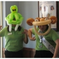 Silly critter masks