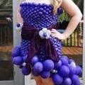 Purple Hi Lo Dress