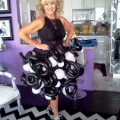 Fun to Wear Bubbly Skirt with Curly-q's!