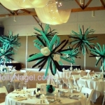 Blasts - centerpieces and hanging decor