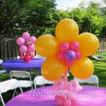 Giant Flower tabletoppers 28 in tall
