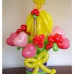 Princess and Hearts centerpiece, 30-in
