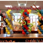 Storybook character column tabletopper, 3-ft