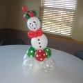 Snowman tabletopper, 12-15 in